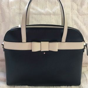 kate spade saffiano leather satchel